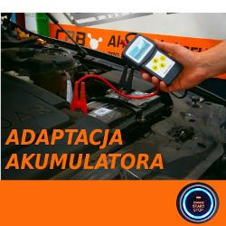 Usługa adaptacji akumulatora w samochodach wyposażonych w system START-STOP lub IBS